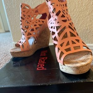 Not Rated Shoes - Super comfy wedges